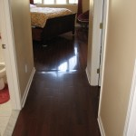 Installation of pre-finished hardwood flooring