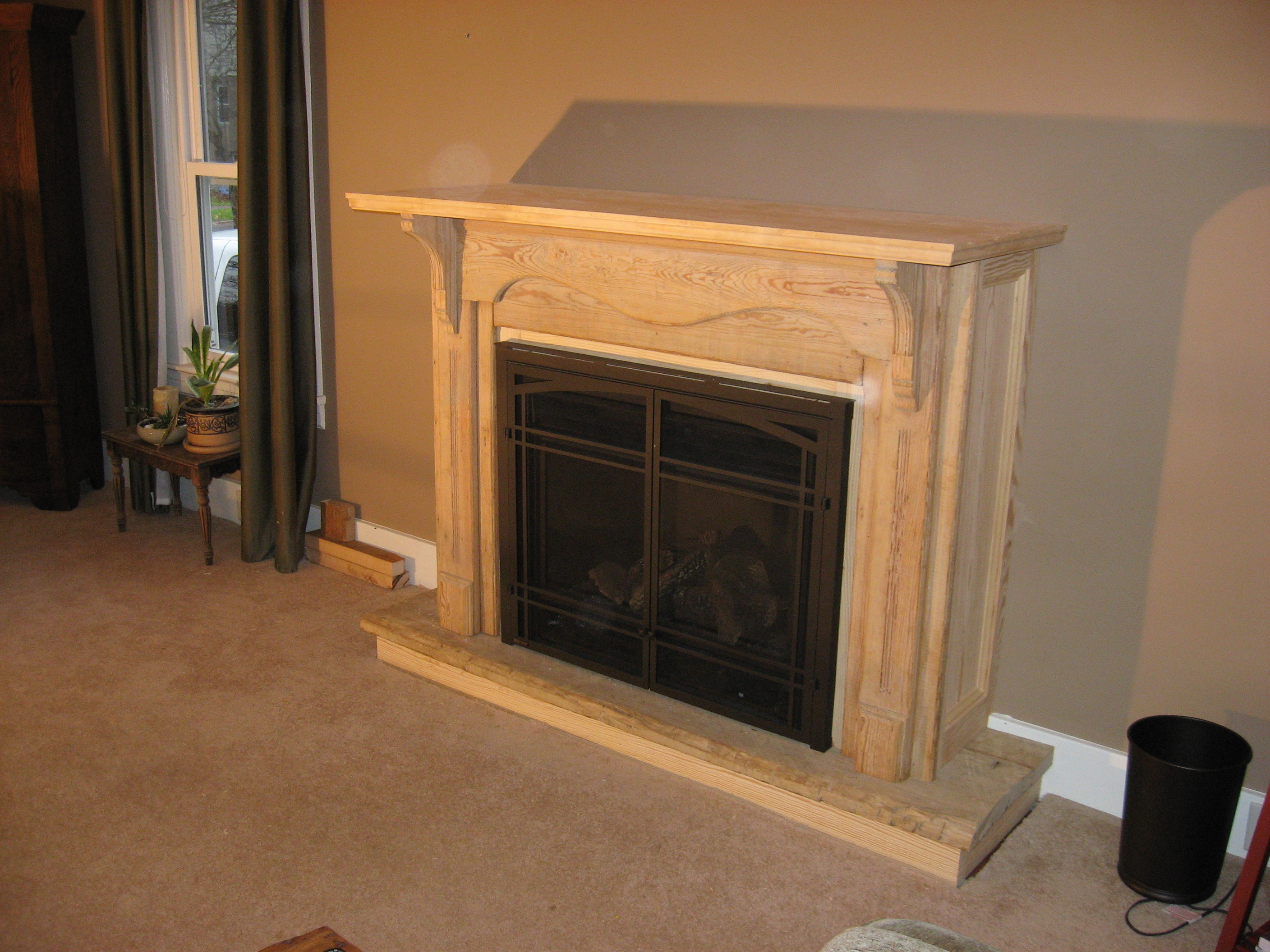 Fireplace -- After