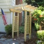 New garden arbor