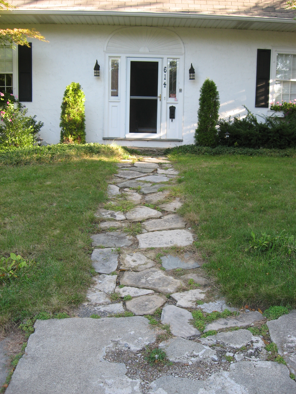 Walkway – Before